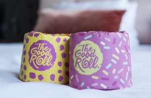 The Good Roll, 100% gerecycled toiletpapier