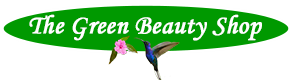 Logo the green beauty shop